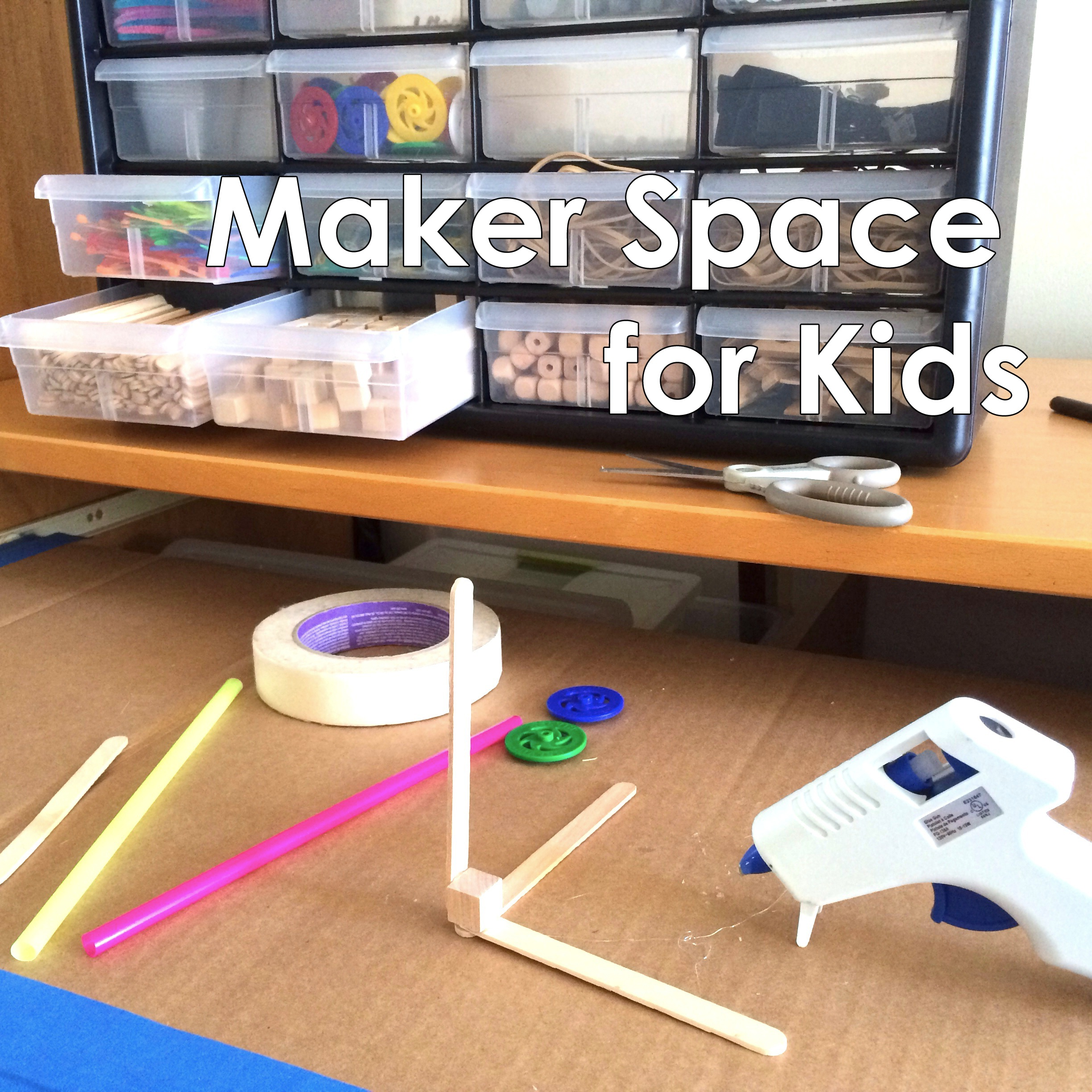 Picture of Create a Maker Space for Kids