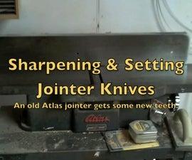 Sharpen and Set Plainer Knives