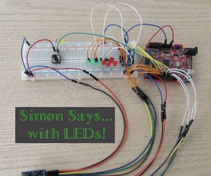 Simon Says With LEDs