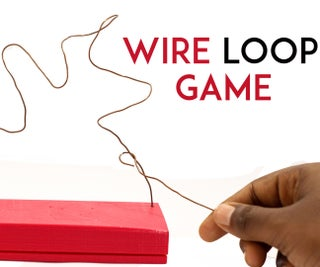 Pocket Sized Wire Loop Game