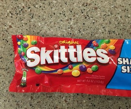 Skittles Popcorn for the 4th of July