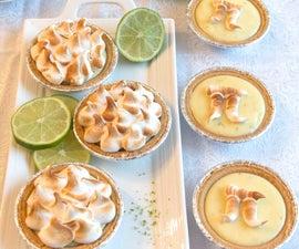 Key Lime Meringue Pie or Tartlets