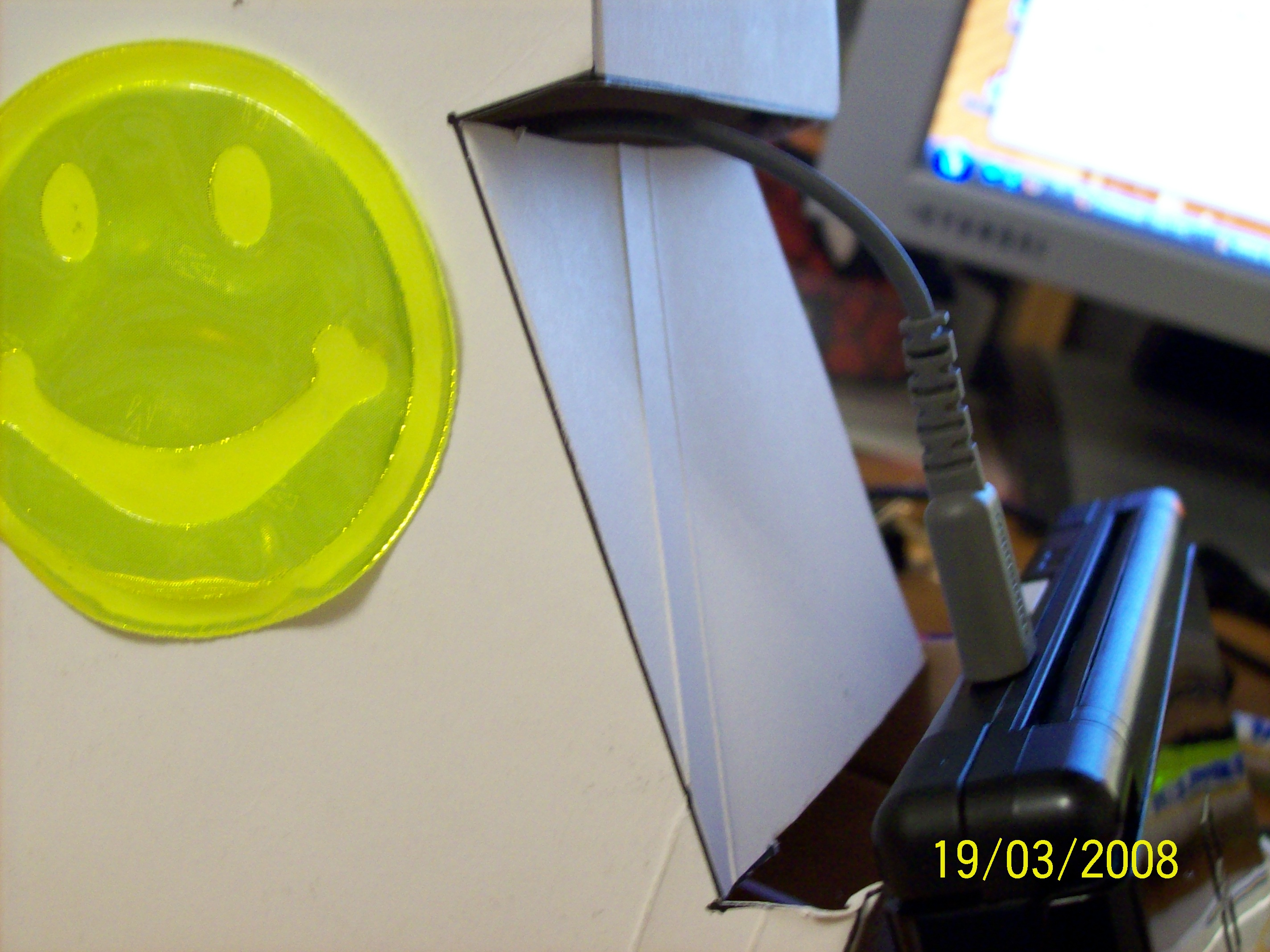 Picture of Cutting, Glueing and Turning the Cardboard