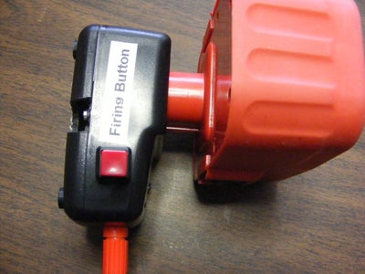 Model Rocket Launch Controller Added to Power Tool Battery Charger