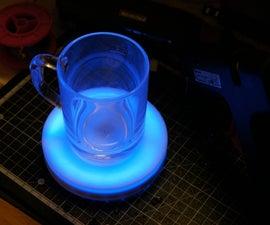 Arduino controlled smart coaster