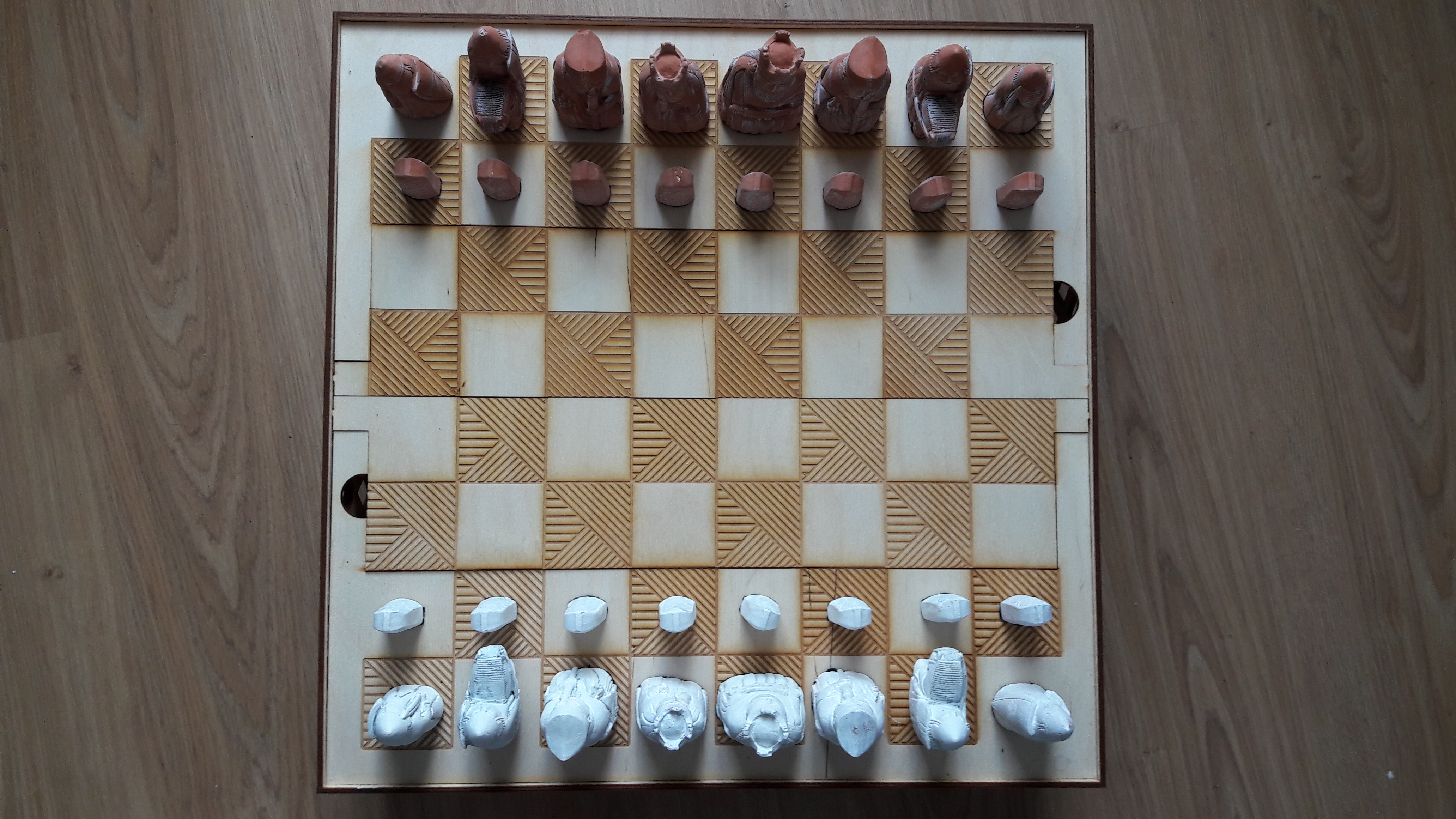 Picture of Lasercut Chess Board