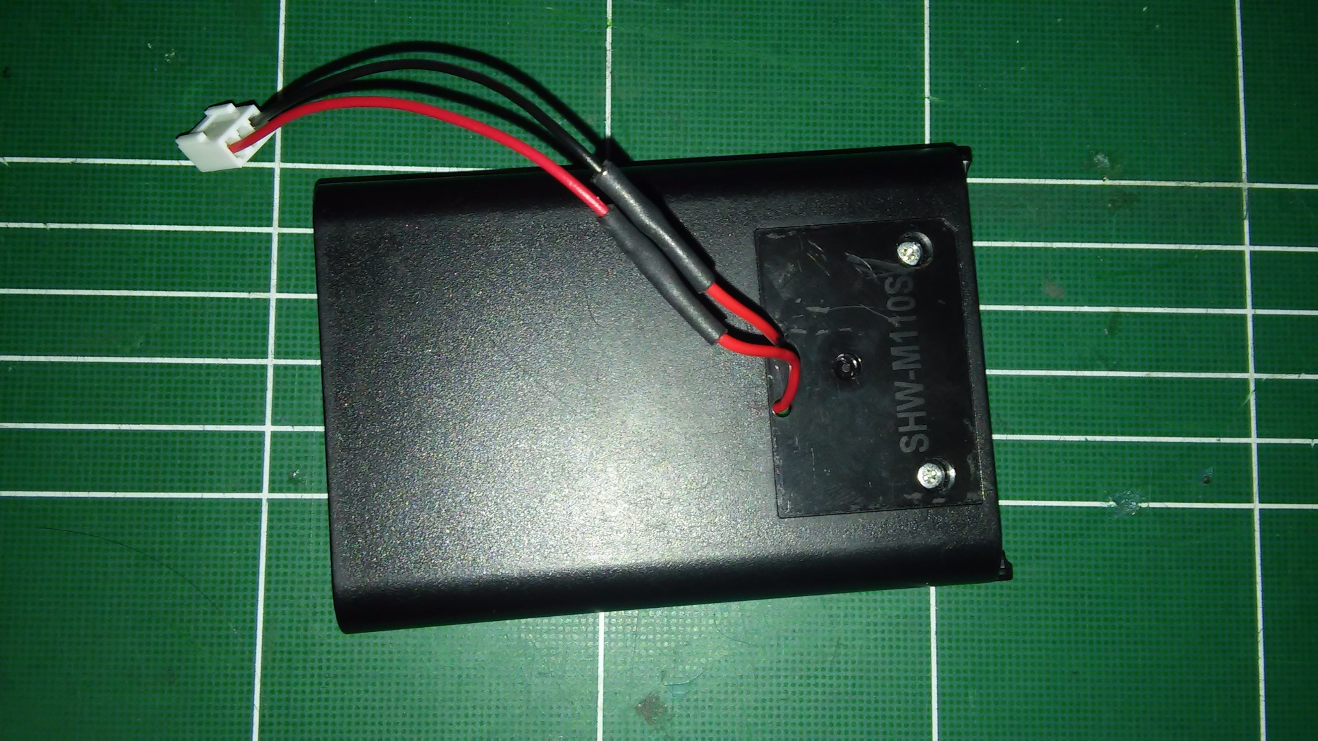 Picture of Make 5v LI Battery With Your Old Cellphone Battery