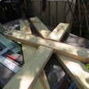 HOW HE MADE A SEED PLANTER STEEP TO STEEP FROM RECYCLED WOOD PALLET
