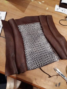 Making and Attaching Your Chainmail