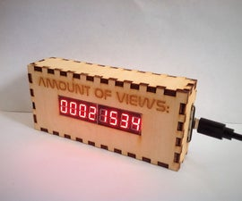 ESP-8266 Live Instructable View Counter