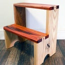 Basic Hardwood Step Stool