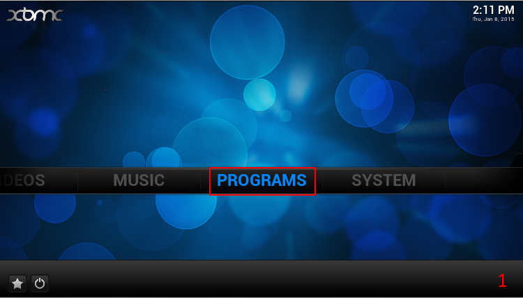 Picture of Install the USTVNow Addon