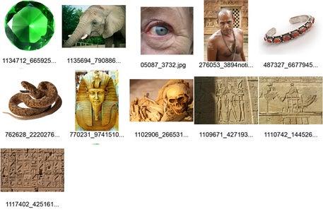 Mummy Photomanipulation