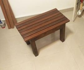Bathroom Bench