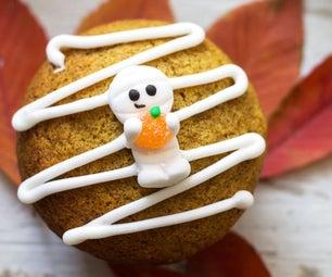 Mummy Pumpkin Muffins