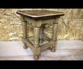 Crafting the Perfect Stool