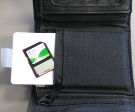 Credit Card SD Holder
