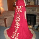 Fur and Suede Winter cloak