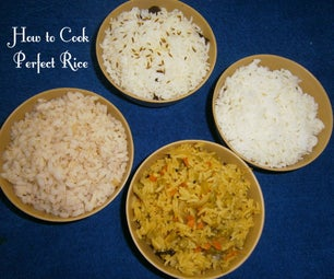 How to Cook Perfect Rice - (4 Techniques)