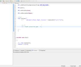 Java Programming 1 | Rock, Paper and Scissors