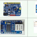 Arduino and ENC28J60 Ethernet Controller, (320x480) TFT LCD, DHT22 Temperature / Humidity Web Server