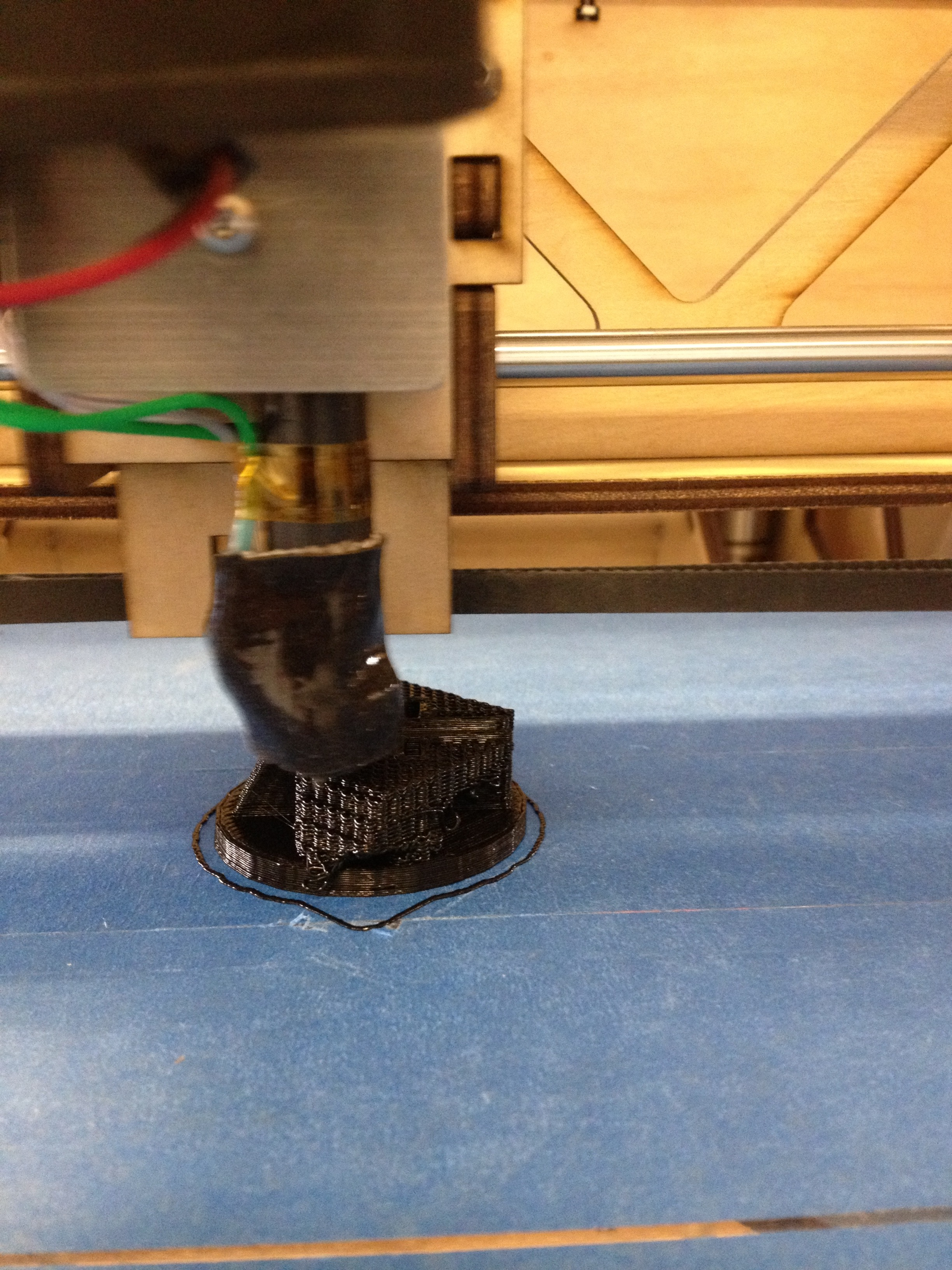 Picture of 70% of the Way Through Printing