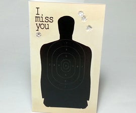 """I miss you"" cards"