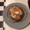 easy mocha pancakes
