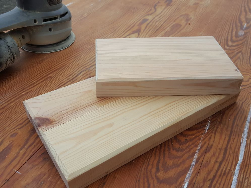 Picture of Glue, Clamp and Sanding.