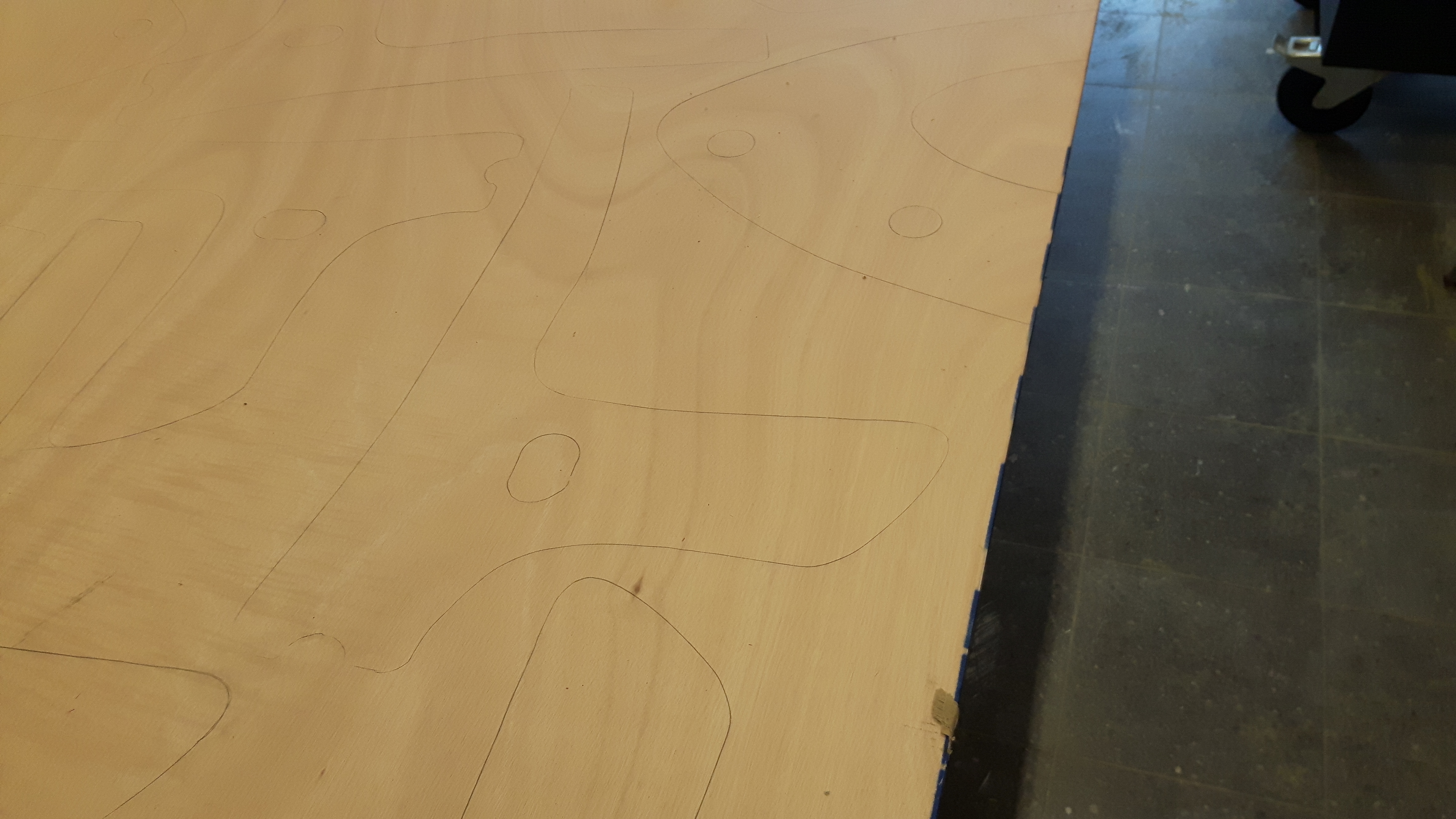 Picture of Cutting Out the Wooden Templates