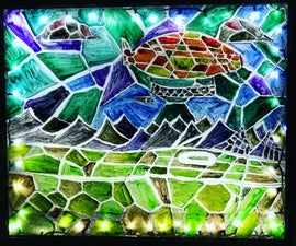 """""""Stained"""" Glass Art"""