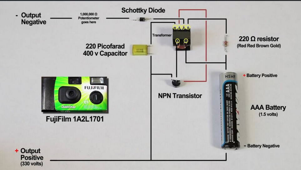 Picture of Circuit not working, transistor heating up?