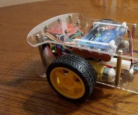 Bluetooth Controlled Arduino Dual Motor RC Platform