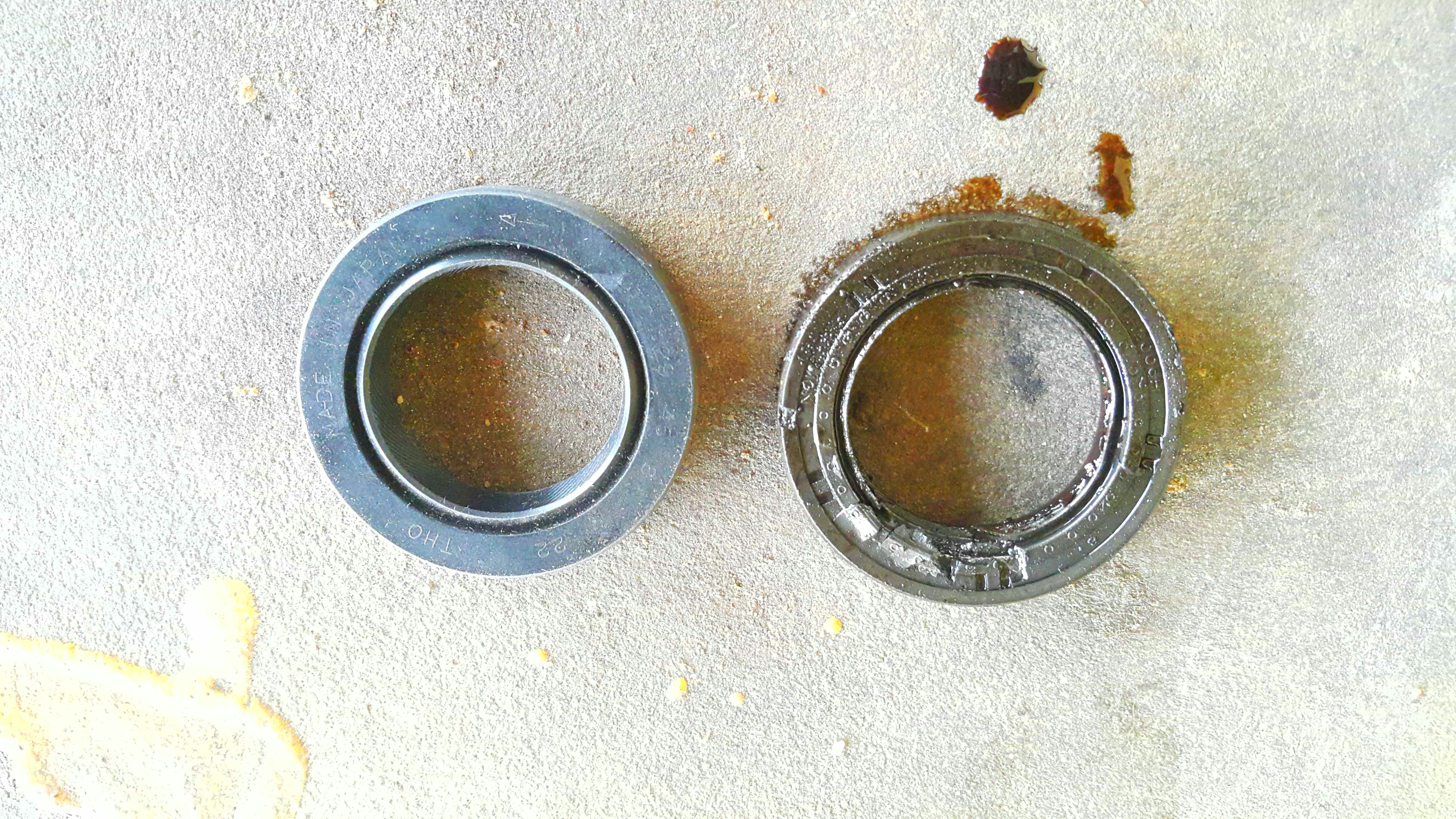 Picture of Removing the Old Seal.