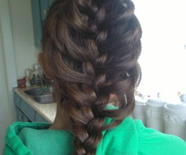how to create a cage braid