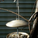 How to make a bird feeder out of Ikea plates