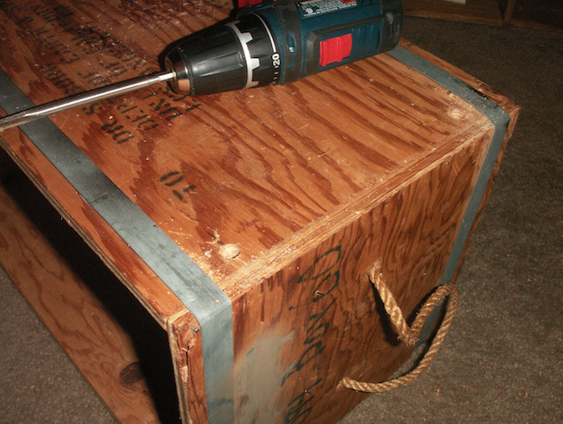 Picture of Drill Holes and Prepare Dowels
