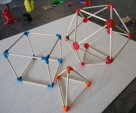 3D Printed Geometry Connectors