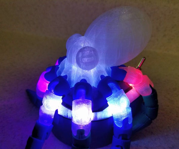 Illuminated LED Octopus