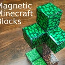 Magnetic Minecraft Blocks