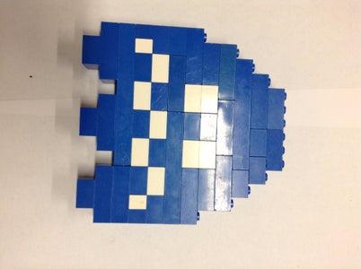 8-bit Pacman Figures
