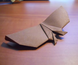 Flying Origami Bat