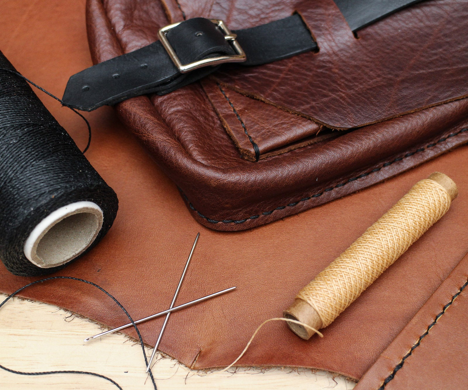 making leather patterns