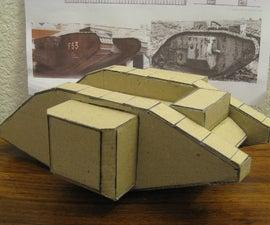 Model of a Mark I Tank