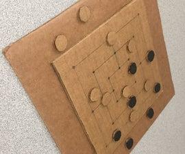Cardboard:Nine Men's Morris