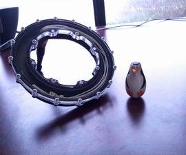 Light Ring on Underwater Robot -- Part 2 (CNC Mill)