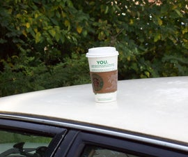Roof Coffee Cup
