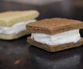 Chocolate Ice-Cream Sandwich's