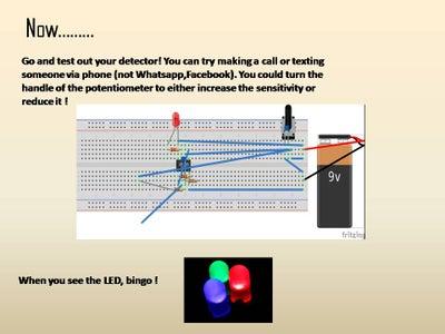 Mobile Phone Detector