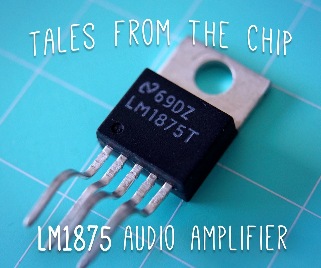 Tales From The Chip Lm1875 Audio Amplifier 8 Steps With Pictures Power Led Driver Circuit Lifier Ic